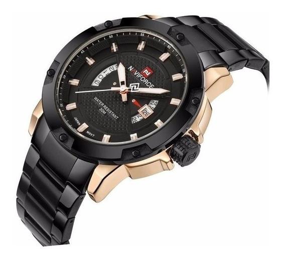 Relógio Naviforce Nf9085, Metal, Original - Pronta Entrega