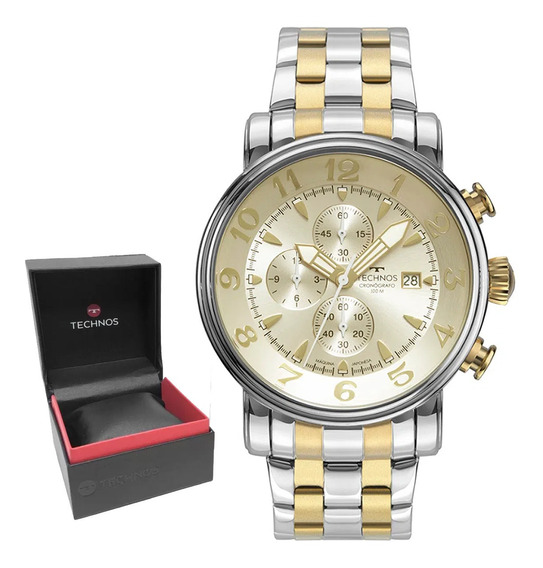 Relógio Technos Grandthech Masculino Original Nf Os10fh/1d