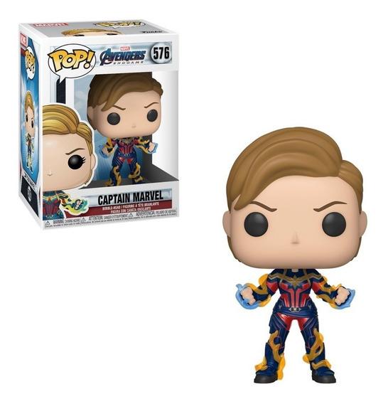 Funko Pop! Avengers Endgame, Capitan Marvel #576