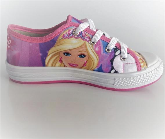 Tênis Barbie Infantil Rosa Feminino Meninas Promoção