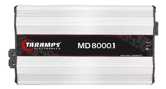 Módulo Taramps Md 8000.1 1 Ohms 8000w Branca Full