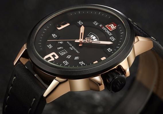 Relógio Masculino Naviforce Original Na Caixa Original.