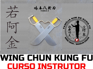 Wing Chun Kung Fu Curso Formação Instrutor 3º Estágio
