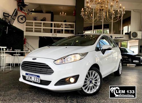 Ford Fiesta Kinectic Se 1.6n L/n Mt Excelente, Anticipo $