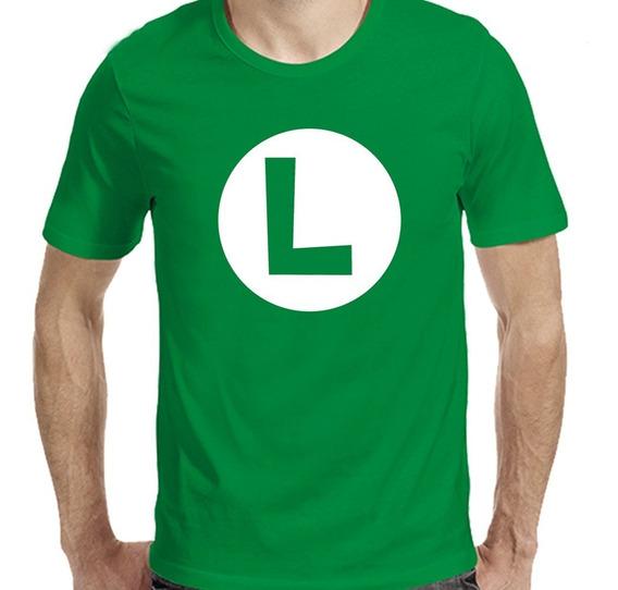 Remeras Luigi Mario Bross Nintendo Vinilo |de Hoy No Pasa| 8