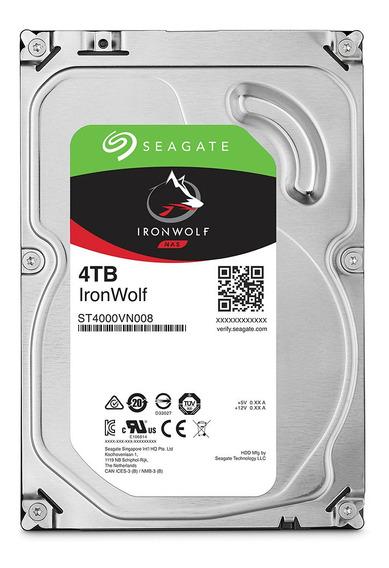 Hd Seagate Ironwolf 3.5 Sata 4tb