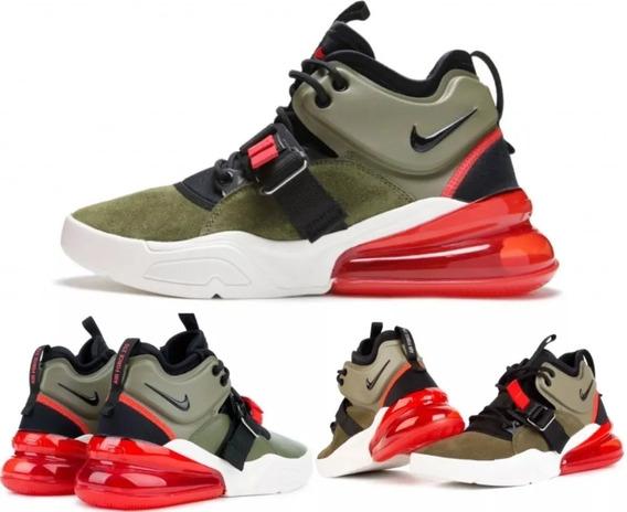 Nike Air Force 270 Medium Olive ! Zapatilla Hombre !original