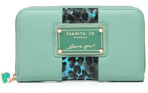 Billetera Juanita Jo Thick ( Menta - 30052 )