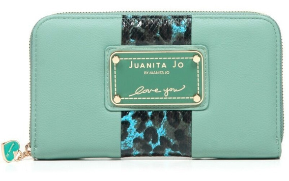 Billetera Juanita Jo Thick ( Menta - 30052 )