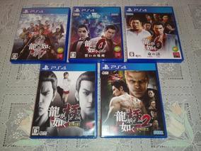 Yakuza Ps4 - 5 Jogos (versão Japonesa)