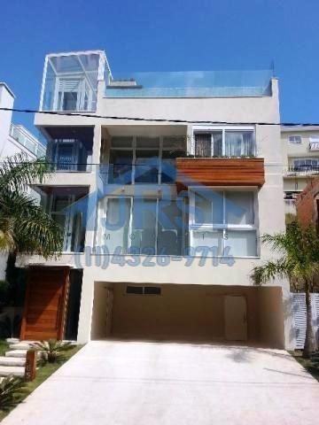 Imagem 1 de 13 de Sobrado Com 3 Dormitórios À Venda, 600 M² Por R$ 3.500.000,00 - Tamboré - Santana De Parnaíba/sp - So1514