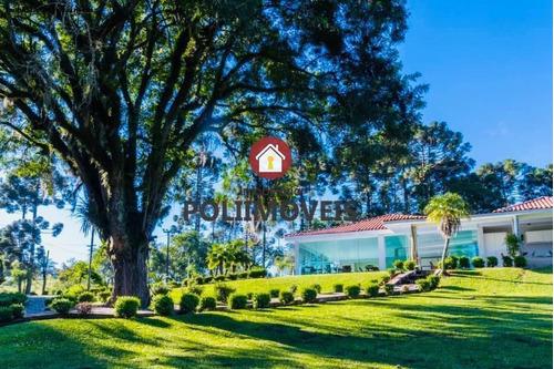Imagem 1 de 15 de Chácara Para Venda Em Araucária, Guajuvira, 3 Dormitórios, 2 Suítes, 4 Banheiros - Ch0547_2-1110072
