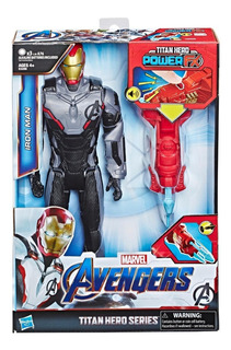 Iron Man Figura Muñeco Th Power Fx 2.0 Sonido Hasbro E3298 E