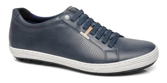 Tenis Freeway Trace-5 3234 Couro Midnight