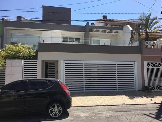 Excelente Sobrado À Venda - 4 Dormitórios - 2 Vagas - Nova Petrópolis - São Bernardo Do Campo - Sp - 19722