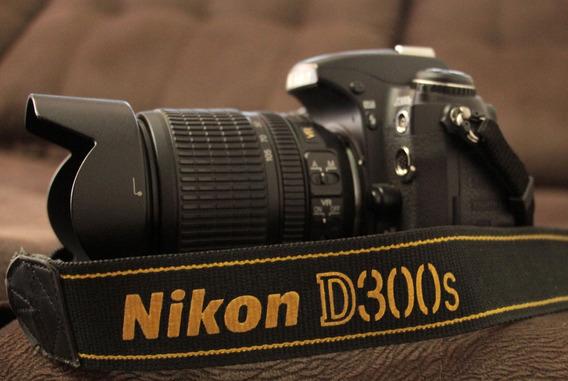 Nikon D300s Com Lente 18-105 Com 169k De Cliks
