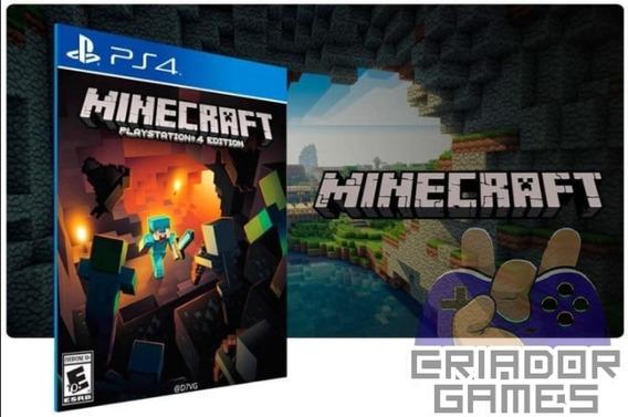 Minecraft Playstation 4 Digital Psn Vitalício