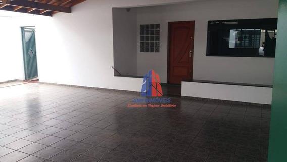 Casa Com 3 Dormitórios À Venda, 206 M² Por R$ 580.000 - Parque Residencial Jaguari - Americana/sp - Ca1159