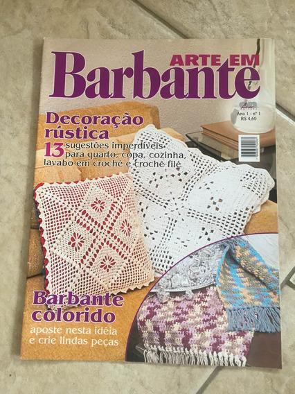 Revista Arte Em Barbante Decoração Rústica Barbante Colorido