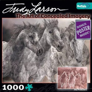 Judy Larson El Arte De Las Imagenes Ocultas Rompecabezas