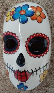 Catrina Mascara De Ceramica