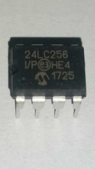 24lc256 Dip8 Microchip (kit 10peças)