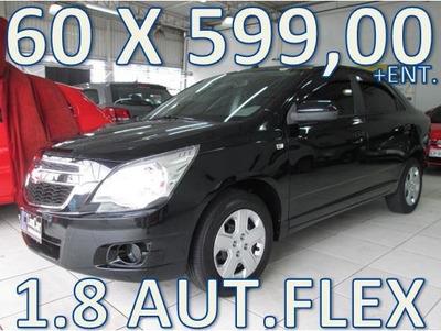 Chevrolet Cobalt 1.8 Lt Aut. Flex Entrada +60 X 599,00 Fixas