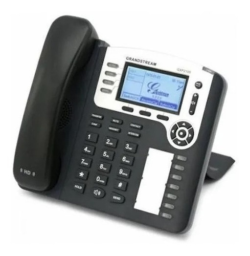 Telefono Ip Grandstream Enterprise Gxp2100 4 Lineas Poe