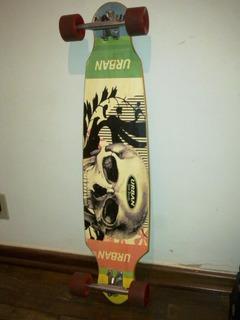 Longboard Skate Novinho Vendo/troco Em Celular Ou Bike Aro29