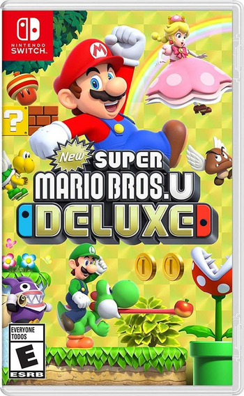 New Super Mario Bros. U Deluxe Switch Lacrado