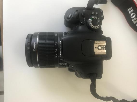 Vendo Câmera Canon T3i, Pouco Tempo De Uso Com Acessórios.