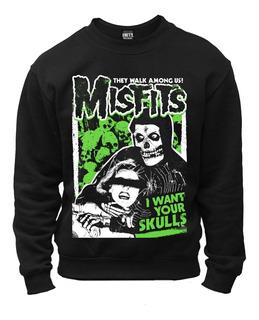Buzo Misfits Skulls