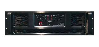 Potencia Sts Sx 6.0 Amplificador Estereo Profesional 6000w
