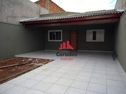 Imagem 1 de 5 de Casa Residencial À Venda, Jardim Da Balsa Ii, Americana. - Ca1658