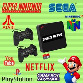 Vídeo Game Smart Retro Box 7000 Games 64gb