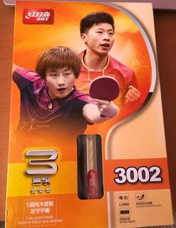 Raqueta Para Pingpong Dhs 3002