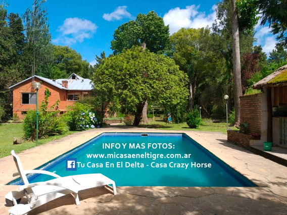 Alquiler Casa Crazy Horse Arroyo Abra Vieja Delta Tigre