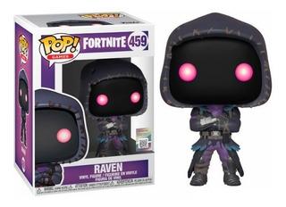 Funko Pop Fortnite Raven 459 Games Figura Original Educando