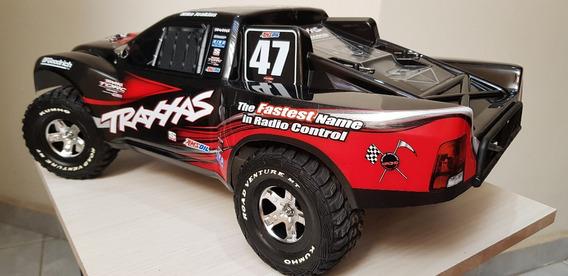 Traxxas Slash 4x4 Mike Jenkins Vxl 3s - Carregador + Bateria