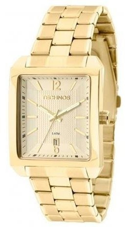 Relógio Technos Dourado Classic Steel 2115kob/1d (dourado)