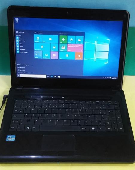 Notebook Positivo Premium Sim+ Core I3, 6gb 500gb Windows 10