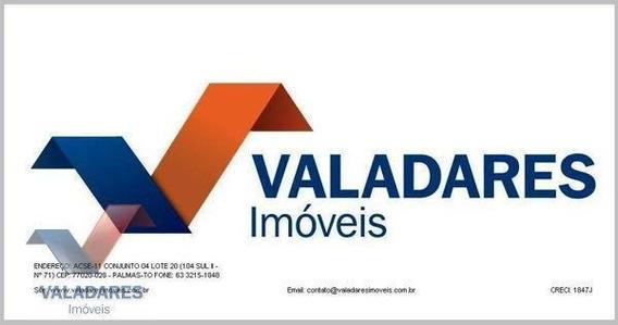 Terreno Residencial Para Venda Em Palmas, Graciosa - Orla 14 - 843721