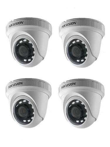 Imagen 1 de 9 de 4 Camara Hikvision Hd 1080p 2mp Exterior Seguridad 56d0t Irmf