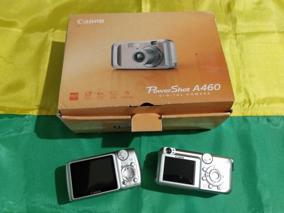 Câmera Fotográfica Digital Canon A460 Usada, Leia O Anúncio