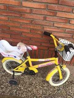 Bicicleta Nena Wal-her Princesas Nena