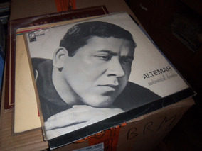 Altemar Dutra - Lp Sentimental Demais - Odeon 33