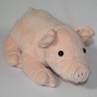 Porquinho De Pelúcia - Grande - Fazendinha