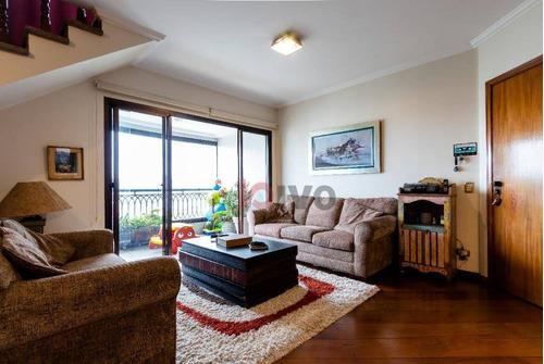 Imagem 1 de 30 de Cobertura  3  Quartos, 225 M² Úteis R$ 2.395.000 - Vila Clementino- Sp - Co0217