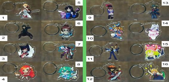Llaveros De Acrilico De Anime 128 Modelos Diferentes
