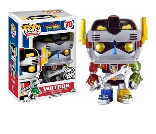 Funko Pop Voltron Metallic Special Edition